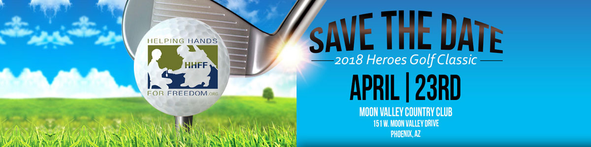 Save the date golf event April 23rd