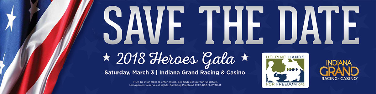 2018 Heros Gala Save the Date