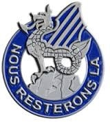"""""""We Stay Here"""" Crest of 3rd Infantry Division"""
