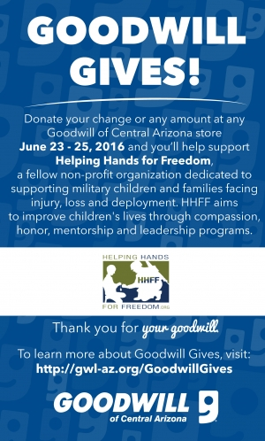 Goodwill Gives Day in Maricopa County