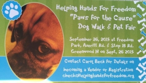 Paws for the Cause HH4F Dog Walk & Pet Fair