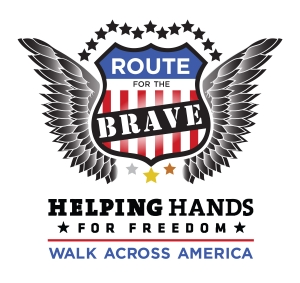 Route for the Brave logo