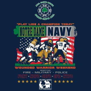 2016 Notre Dame Bucket List Game