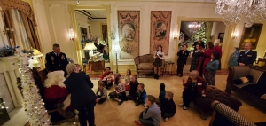 Gold Star Family Holiday Reception at the Governor's Mansion