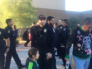 AZ LEOS 15th Annual Shop with A Cop Program