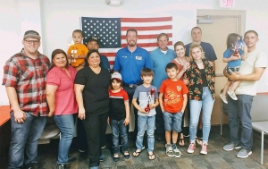 Kyle Busch Shows Support for Gold Star and Survivor Families
