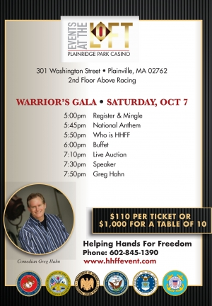2017 Warriors Gala Presented by Plainridge Park Casino