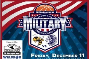 2nd Annual Military Appreciation Night