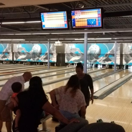 Arizona Gold Star Bowling Outing