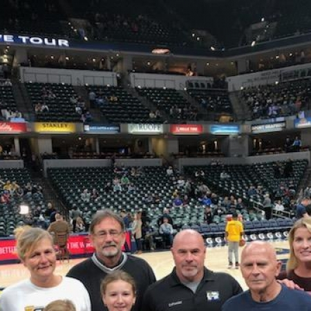 Indiana Pacers and Survivor Outreach Services Event