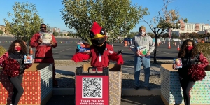 AZ Cardinals & Desert Financial Credit Union Toy Drive