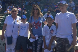 Dream Chaser Fulfilled at Memorial Day Cub's Game