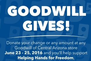 Shop Goodwill June 23-25 and Support Helping Hands for Freedom