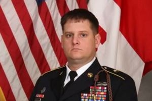 "Sgt. 1st Class Forrest ""Frosty"" Robertson"