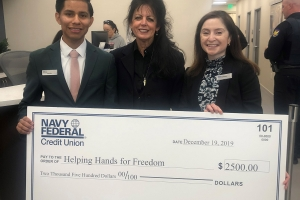 Navy Federal Credit Union assists HHFF