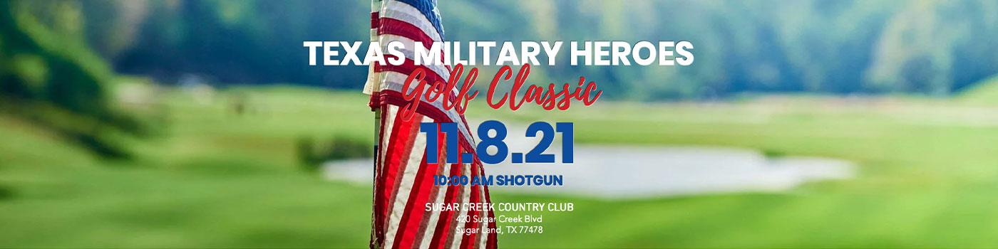 Texas Military Heroes 11.8.21 Golf Classic